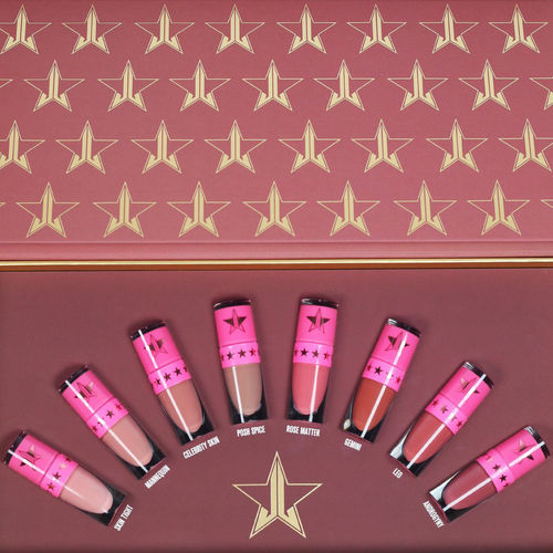 Jeffree Star Cosmetics The Mini Velour Liquid Lipstick NUDES: Volume One