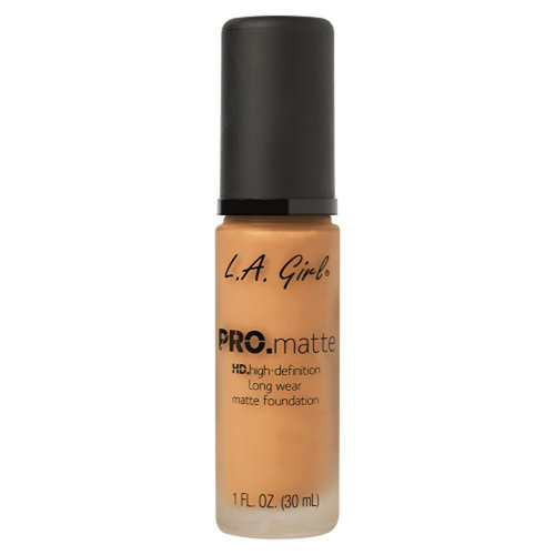 L.A. Girl - PRO.Matte HD Long Wear Foundation - Golden Bronze