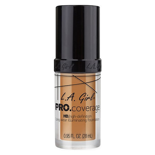 L.A. Girl - Pro.Coverage Illuminating Foundation - Warm Beige