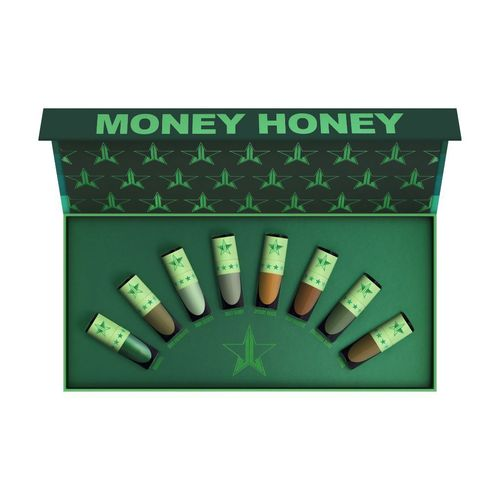 Jeffree Star Cosmetics Money Honey Mini Green Velour Liquid Lipstick Bundle